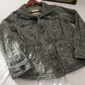 Abercrombie & Fitch Jackets & Coats - Abercrombie & Fitch Tribal Print Utility Jacket